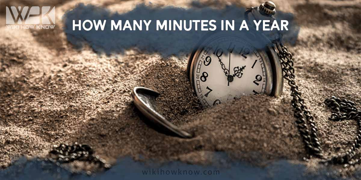 how many minutes in a year