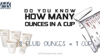 Photo of Do you know how many ounces in a cup?