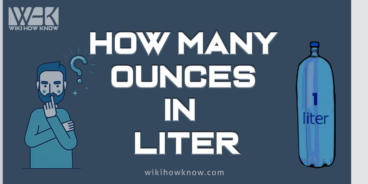 How Many Ounces in a Liter