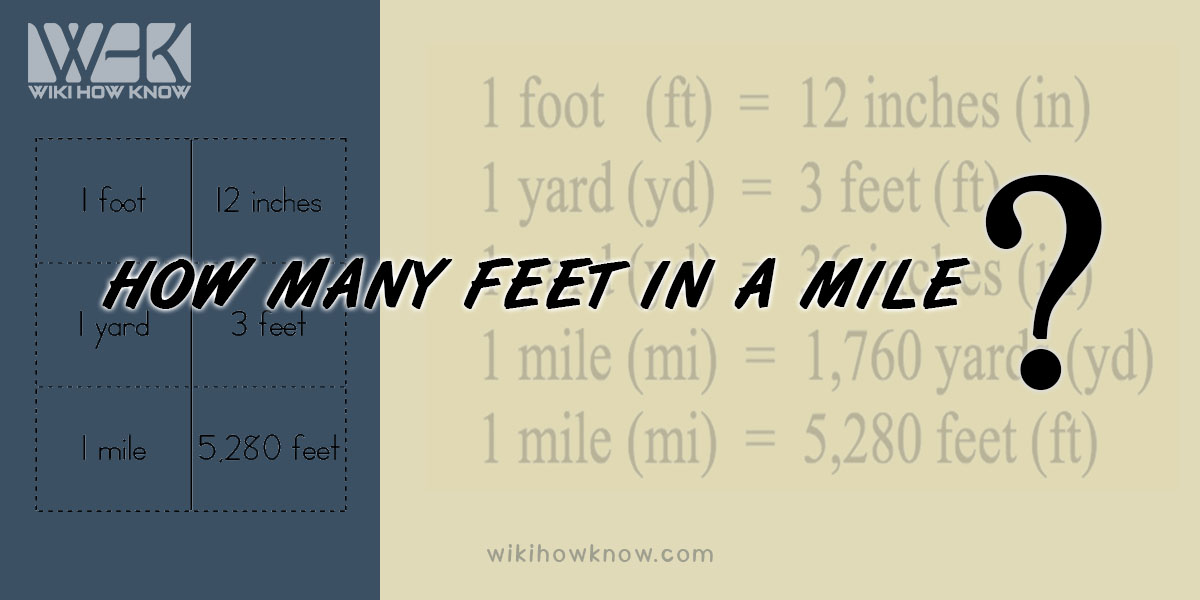 How Many Feet in a Mile