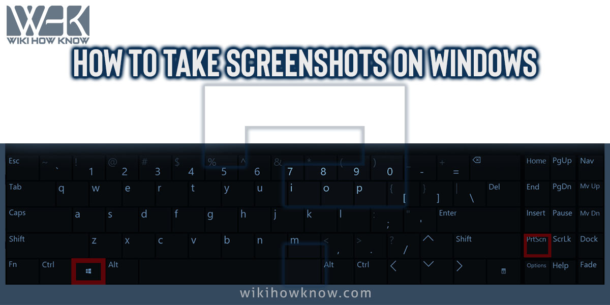 How to Take Screenshots