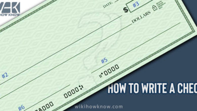 Photo of How to write a Check?