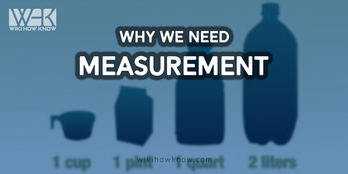 Why we need measurement